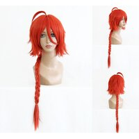 Ladieshair Cosplay Perücke Gintama - Kamui Orange 55cm