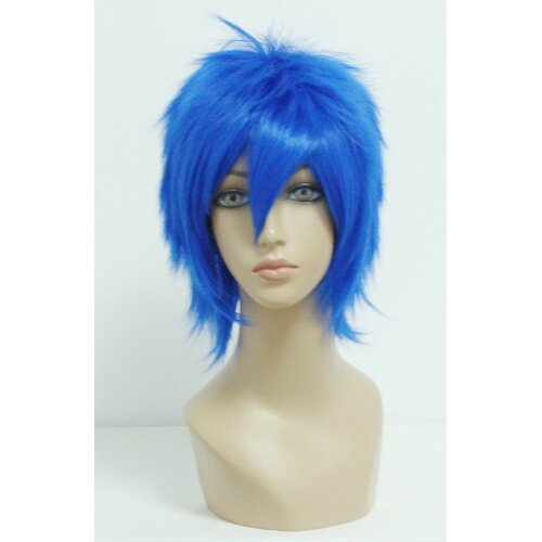 Ladieshair Cosplay Perücke V - Home Blau 32cm