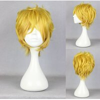 Ladieshair Cosplay Perücke Karneval - Yogi in Blond 32cm