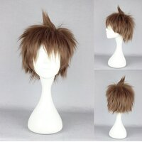 Ladieshair Cosplay Perücke Danganronpa braun 28cm
