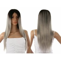 Ladieshair Front Lace Wig Echthaarperücke ca. 55cm in...