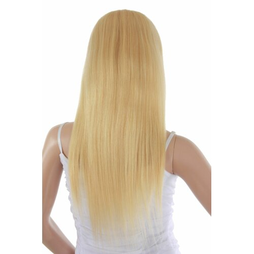 Ladieshair Full Lace Wig Echthaarperücke ca. 50cm in Blond glatt