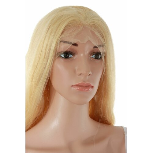 Ladieshair Full Lace Wig Echthaarperücke ca. 65cm in Blond wellig