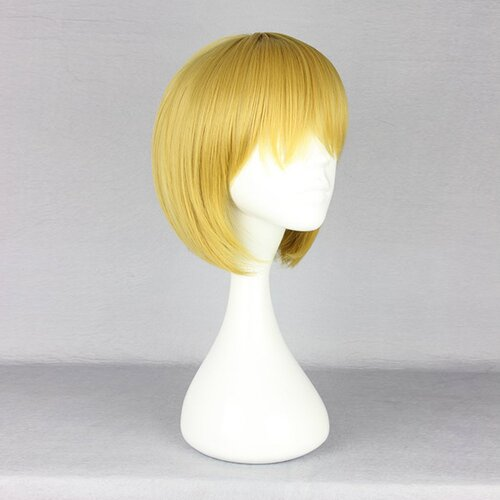 Ladieshair Cosplay Perücke Attack on Titan - Armin Arlart 30cm blond
