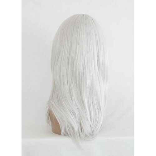 Ladieshair Cosplay Perücke grau 55cm nabai no ou