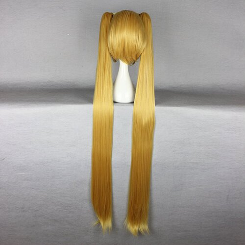 Ladieshair Cosplay Perücke goldblond Vocaloid 130cm Lolita
