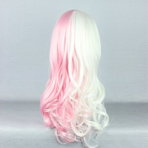 Ladieshair Cosplay Perücke blond rosa 55cm