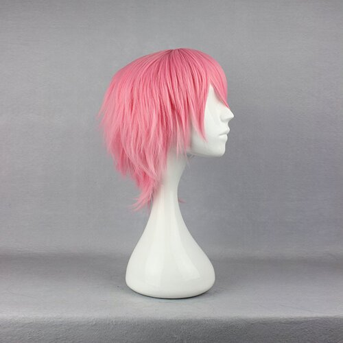 Ladieshair Cosplay Perücke pink 32cm Bleach Szayel