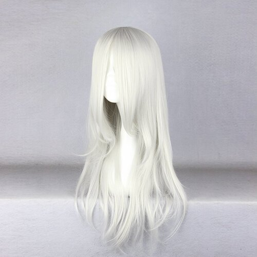 Ladieshair Cosplay Perücke grau 55cm Final Fantasy Sephiroth