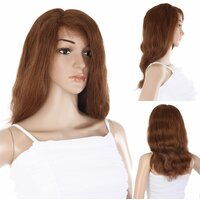 Ladieshair Full Lace Wig Perücke in Braun ca. 45cm...