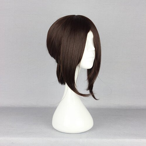 Ladieshair Cosplay Perücke Attack on Titan - Hanji Zoe 38cm dunkelbraun