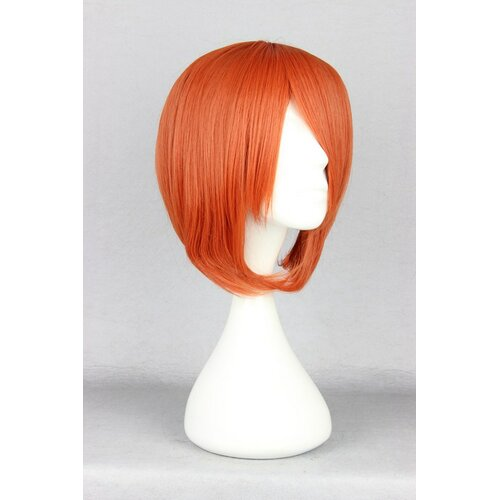 Ladieshair Cosplay Perücke orange 35cm glatt Angel Beats Otonashi Yuzuru