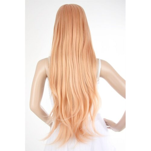 Perücke blond / orange ca. 86 cm lang - HM-HMD1524