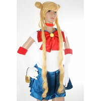 Ladieshair Cosplay Perücke blond 100cm glatt Sailor Moon...
