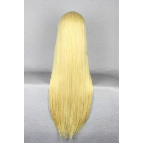 Ladieshair Cosplay Perücke goldblond 80cm glatt