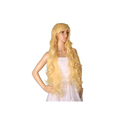Ladieshair Cosplay Perücke blond 90cm Amagi Brilliant Park - Latifah Fullanza