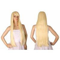 Ladieshair Cosplay Perücke gold blond 80cm Amagi...