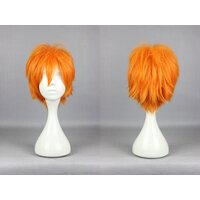 Ladieshair Cosplay Perücke orange 30cm Haikyuu!! Shouyou...