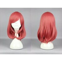 Ladieshair Cosplay Perücke rot orange 44cm Love Live!...