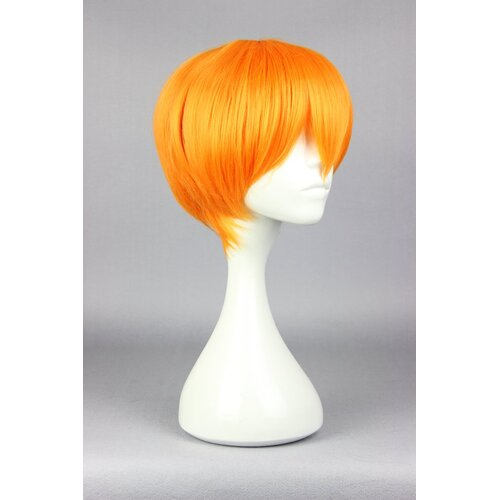 Ladieshair Cosplay Perücke orange 28cm Love Live! Hoshizora Rin