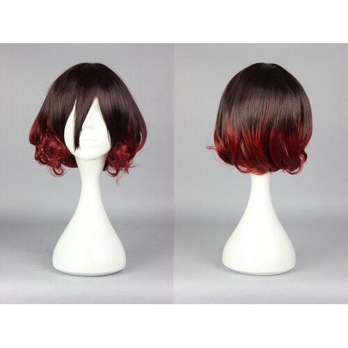 Ladieshair Cosplay Perücke rot braun 30cm Kantai Collection Kann Colle - Mutsuki