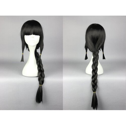 Ladieshair Cosplay Perücke schwarz 75cm Kantai Collection Kann Colle - Kitakami