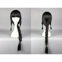 Ladieshair Cosplay Perücke schwarz 75cm Kantai Collection...