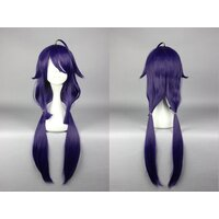 Ladieshair Cosplay Perücke lila 80cm Kantai Collection...