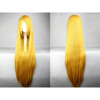 Ladieshair Cosplay Perücke blond 100cm glatt Code Geass -...