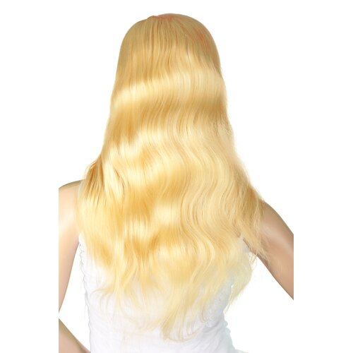 Ladieshair Full Lace Wig Perücke Blond Lockig 55cm