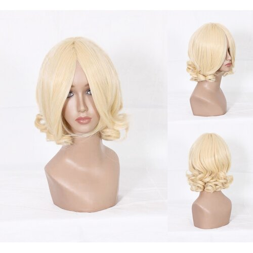 Ladieshair Cosplay Perücke Hetalia Axis Powers Francis Bonnefoy blond 35cm