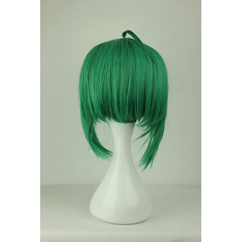 Ladieshair Cosplay Perücke Macross Series - Ranka Lee dunkelgrün 35cm