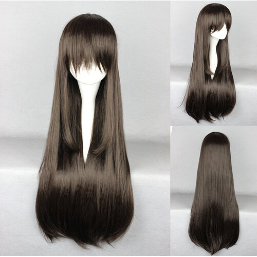 Ladieshair Cosplay Perücke Noragami - Hiyori Iki Dark Brown 80cm