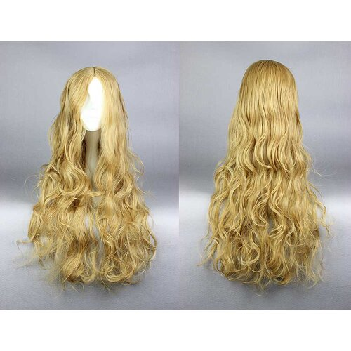 Ladieshair Cosplay Perücke Prinzessin Cosplay Blond 70cm